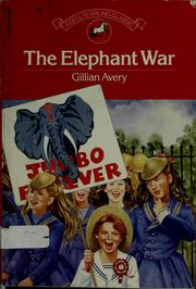 Cover of: The Elephant War