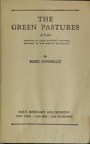 Cover of: The green pastures