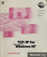 Cover of: TCP/IP for Microsoft Windows NT | Microsoft Press