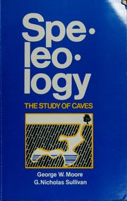 Cover of: Speleology