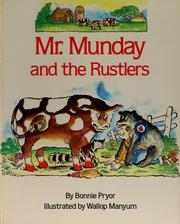 Cover of: Mr. Munday and the rustlers