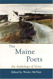 Cover of: The Maine Poets | Wesley McNair