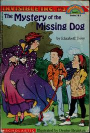 Cover of: The mystery of the missing dog