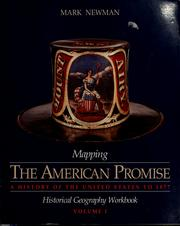 Cover of: Mapping The American promise