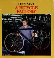 Cover of: Let's visit a bicycle factory