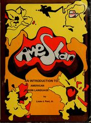 Cover of: Ameslan | Louis J. Fant