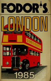 Cover of: FD London 1985