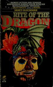 Cover of: Rite of the dragon | Janet Berliner