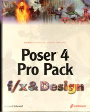 Cover of: Poser 4 pro pack f/x & design | Richard Schrand