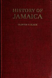 Cover of: History of Jamaica by Clinton Vane de Brosse Black