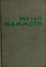 Cover of: The Last Mammoth
