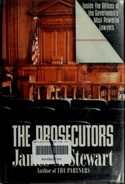 Cover of: The prosecutors