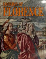 Cover of: Looking at Florence