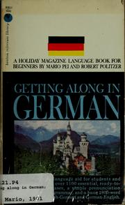 Cover of: Getting along in German