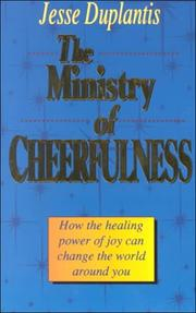 Cover of: The ministry of cheerfulness
