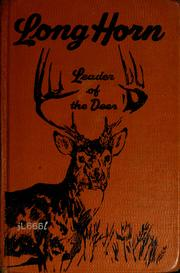 Cover of: Long Horn, leader of the deer