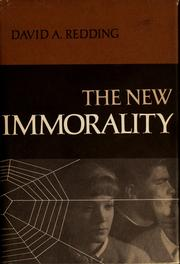 Cover of: The new immorality