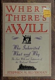 Cover of: Where There's a Will..