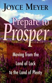 Cover of: Prepare to Prosper