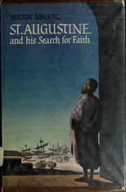 St. Augustine and his search for faith