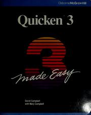 Cover of: Quicken III made easy