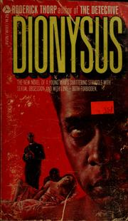 Cover of: Dionysus
