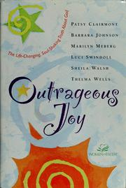 Cover of: Outrageous joy | Patsy Clairmont