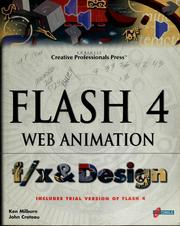 Cover of: Flash 4 Web animation f/x & design