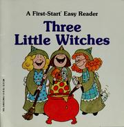 Cover of: Three little witches | Sharon Gordon