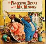 Cover of: The Forgetful bears meet Mr. Memory