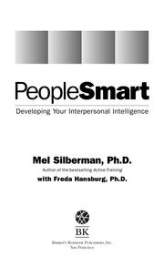 PeopleSmart by Mel Silberman