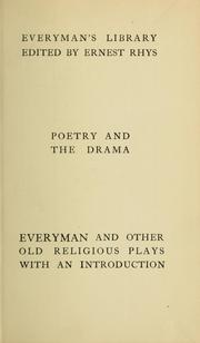 "Cover of: ""Everyman"", with other interludes, including eight miracle plays"