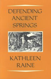 Cover of: Defending ancient springs