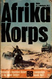 Cover of: Afrika Korps