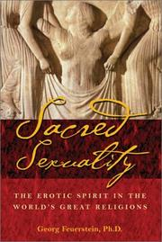 Cover of: Sacred sexuality