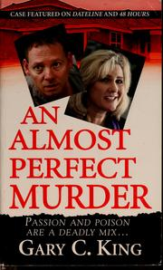 Cover of: An almost perfect murder