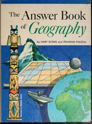 Cover of: The answer book of geography