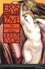 Cover of: Metafisica del sesso: eros and the mysteries of love