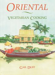 Cover of: Oriental vegetarian cooking