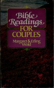 Cover of: Bible readings for couples