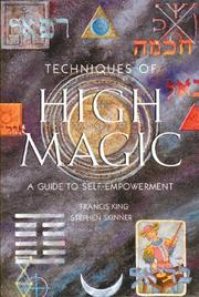 Cover of: Techniques of high magic