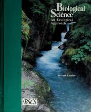 Cover of: An Ecological Approach - Green Version