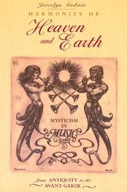 Cover of: Harmonies of heaven and earth