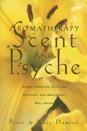 Cover of: Aromatherapy