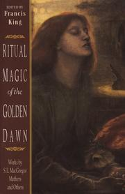 Cover of: Ritual magic of the Golden Dawn