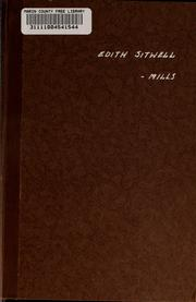 Cover of: Edith Sitwell