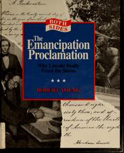 Cover of: The Emancipation Proclamation