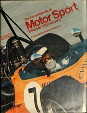 Cover of: The Encyclopedia of motor sport