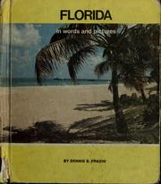 Cover of: Florida in words and pictures