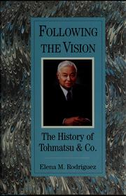 Cover of: Following the vision